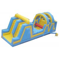 Quality Dual Lanes Inflatable Obstacle Courses Reliable And Durable Material for sale