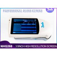 Buy cheap Tri Angle Professional Gloss Meters NHG268 Pakistan Plastic ink coating Gloss from wholesalers