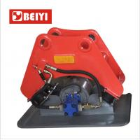 China Excavator attachment BYKC vibratory hydraulic plate compactor for Hitachi ZX135-US on sale
