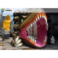Quality Dinosaur Designed Cabin 5D Cinema Equipment With Comfortable Chairs for sale