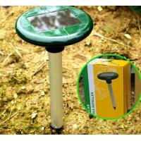 China Outside Solar pest Ultrasonic Rat Repellent rat rodent mole snake repeller on sale