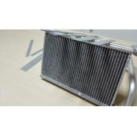 Extruded Aluminium Radiator Tube 3003 / 3102 Aluminium Heat Exchanger Fin Tube