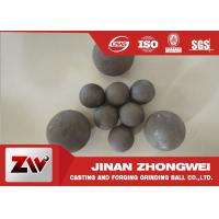 Quality High Impact Toughness forged grinding balls for cooper mining special used for sale