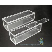Quality BO (157) rectangular clear acrylic display case for sale