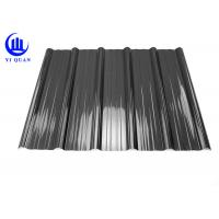 Quality Weather Resistant Resin Plastic Corrugated Roofing Sheets For Building Construction Materials for sale