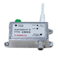 Quality GJS1000H1F-E Mini Optical Receiver , Indoor FTTH Optical Receiver Easy Install for sale