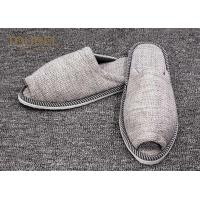 Quality Wholesale Disposable Hotel Slippers For Bedroom Anti - Slip Soft Sole for sale