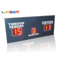 Quality Small Red LED Football Scoreboard / Electronic Sports Scoreboard for sale