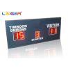 Buy cheap Small Red LED Football Scoreboard / Electronic Sports Scoreboard from wholesalers
