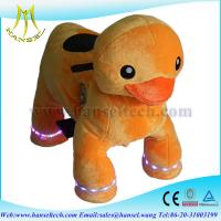 Quality Hansel animal kids-coin-operated pug walking animal rides for sale