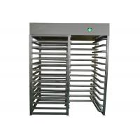 Quality Indoor / Outdoor Security Turnstile Gate , 110V / 220V Turnstile Entrance Gates for sale