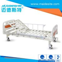 Quality ISO CE Certificated One Crank Electric Patient Bed , Falling Protection Backrest Lifting 0-80° for sale
