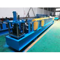 Quality Seamless Half Round Gutter Roll Forming Machine With Side Panel Structure for sale