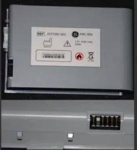 China GE original MAC800 ECG machine battery, 2037082-001 on sale