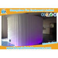 Quality Pvc Coated Oxford Inflatable Photo Booth Lighting Air Tent For Promotional for sale