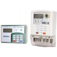 Quality BS Mounting Keypad Prepayment Single Phase Energy Meter With Customer Interface for sale
