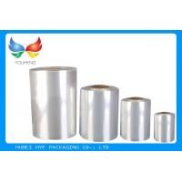 Quality Soft PVC Heat Shrink Film Rolls 45% ~ 50% Shrinkage  For Label Printing for sale