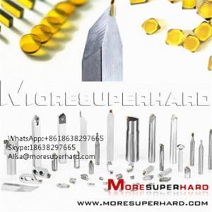 Quality HPHT Mono Crystal Diamond Plates  Alisa@moresuperhard.com for sale