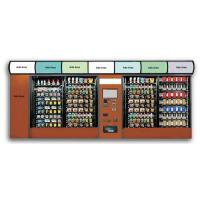 China Smart Outdoor Vending Machine , Beverage Vending Machine For Airport / Railway Station on sale