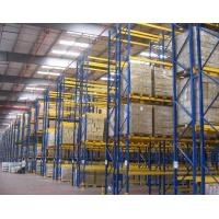 Quality Selective Adjustable Iron Industrial Pallet Racks Heavy Duty With Expansion Bolts for sale