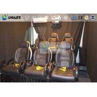 Buy 6 Persons 7D Movie Theater Mini Luxury Leather Motion Chairs , Remove Anywhere at wholesale prices
