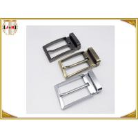 Buy Zinc Alloy Reversible Metal Belt Buckle For Business Man Die Casting Plating at wholesale prices