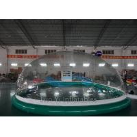 Quality PVC Tarpaulin Bubble Tent Night Inflatable Dome Cover For Swimming Pool for sale