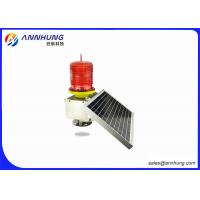 Quality Solar Panel LED Obstruction Light Comprehensive Protection with Voltage Short for sale