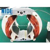 China automatic electric motor winding machine , 2 poles stator coil winding machine  for universal motor on sale