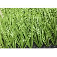 Quality Outdoor Artificial Grass Football / Soccer Artificial Turf UV Resistance for sale