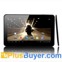 "China Pyro - Ultra Slim Android 4.0 Tablet: 10.1"" Multi Touch, 1GHz CPU, 1GB DDR3, Wifi N, 8GB on sale"