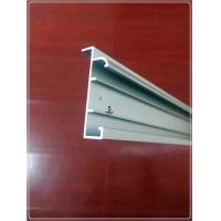 Quality Anodized Silvery Window Aluminum Profile Extrusion Curtain Frames For 6063 T5/T6 for sale