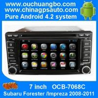 China Ouchuangbo 7 Inch Car Radio DVD for Subaru Forester /Impreza 2008-2011 Android 4.2 3G Wifi on sale