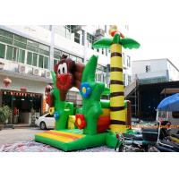 Quality PVC Tarpaulin Monkey Jumping Inflatable Bouncy Castle With CE and TUV for sale