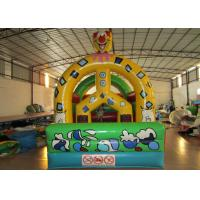 Quality Detachable roof material inflatable bounce house inflatable clown bounce house for children for sale