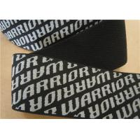 Buy Coloured Woven Cotton Webbing Straps Black Washable Eco Friendly at wholesale prices