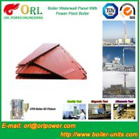 Quality Water Heater Boiler Membrane Wall Tube Boiler Parts Non Pollution for sale