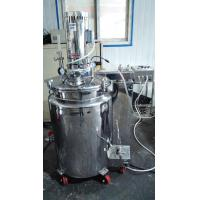 Buy 304 SUS Stainless Steel Storage Tanks Air Press For Pharmaceutical Dairy Foods at wholesale prices