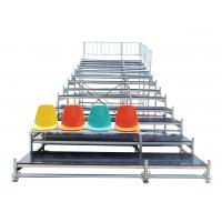 Buy Durable Steel Fixed Arena Bleacher Grandstand System For Exhibition at wholesale prices
