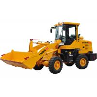 Quality 1 Ton Front End Loader Construction Equipment 918 Yellow Color With Isuzu Axle for sale