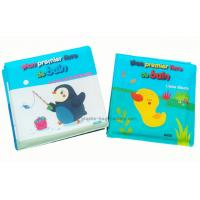 Quality Animal Patterns Baby Bath Books Soft EVA Material CMYK Printing For Education for sale