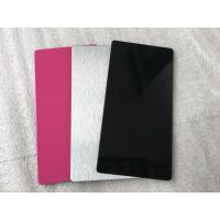 Buy Pink / Black Exterior Insulated Wall Cladding Panels High Intensity 5mm at wholesale prices