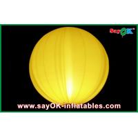 Quality Yellow / Blue LED Balloon Lights Chrismas Inflatable Stage Decoration for sale