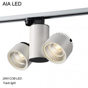 Quality 3 Lines 90degree/120degree/60degree COB LED 26W Track light /LED Track lighting for sale
