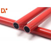 China Colorful Plastic Coated Steel Tube , PE Surface Cold Rolled Steel Tube on sale