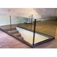 China Customized Frameless Glass Deck Railing Systems Stainless Steel Railing For Balcony on sale