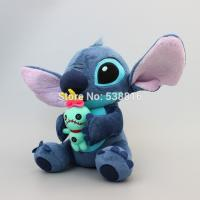 Buy cheap Lilo Stitch holding SCRUMP 24cm 9.6'' Soft Stuffed Plush Doll Toy Loose New from wholesalers