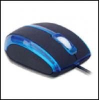 Easy Plug And Play OEM / ODM Wired Basic Optical USB Mouse For Laptop, computer for sale
