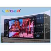 Quality Linger P10 Outdoor Advertising Led Display Screen For Public Advertising for sale