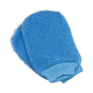 Quality Body Scrubbing Exfoliating Bath Gloves For Dry Skin Spa Bath Shower for sale